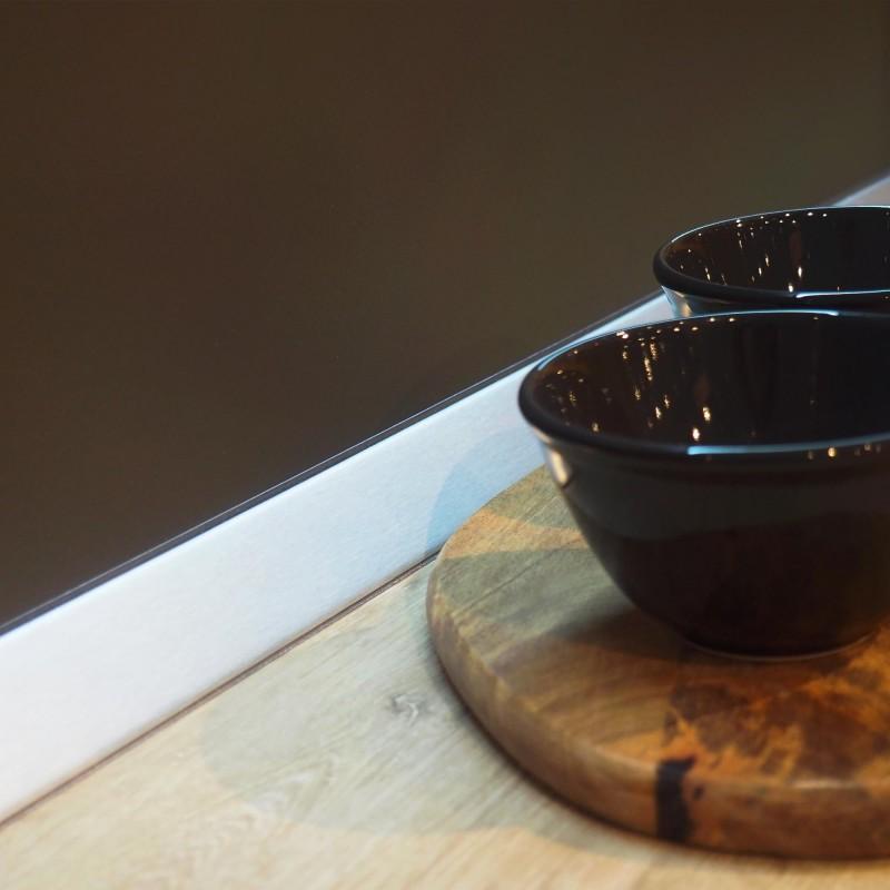 Emuca Alzatina triangolare per cucina Plasline con ...